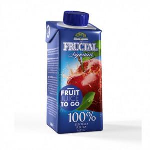 100% jablečná šťáva - Fructal 200ml