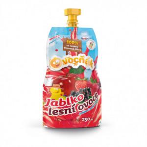 100% šťáva Ovocňák jablko/lesní ovoce 250ml