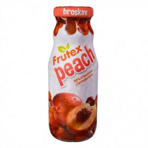 100% šťáva z čerstvého ovoce - broskev - Frutex 200ml