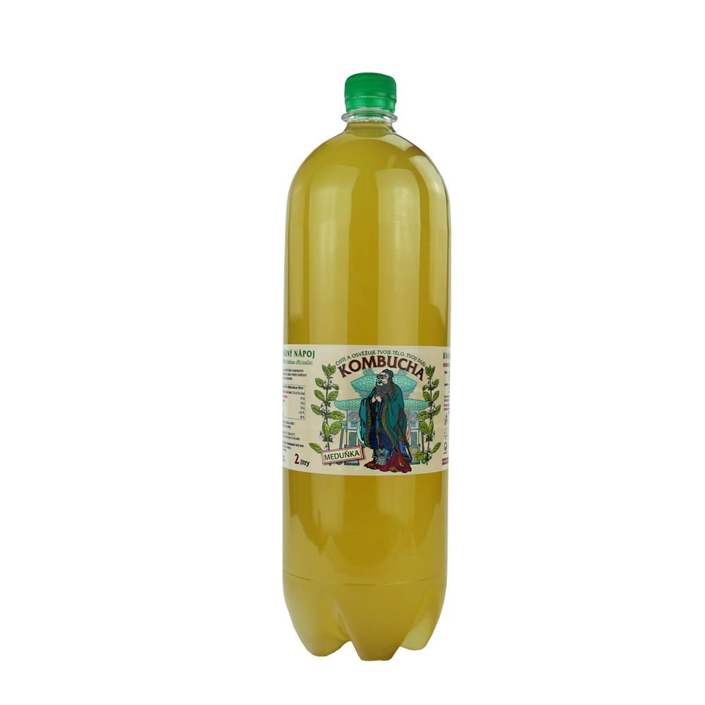 Kombucha meduňka - Stevikom 2l