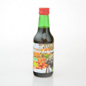 Rakytníková šťáva s aronií slazená třtinovým cukrem BIO - Košek 250ml