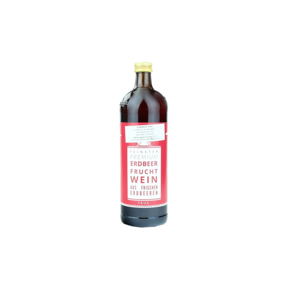 Stará Dáma - jahodové víno 700ml