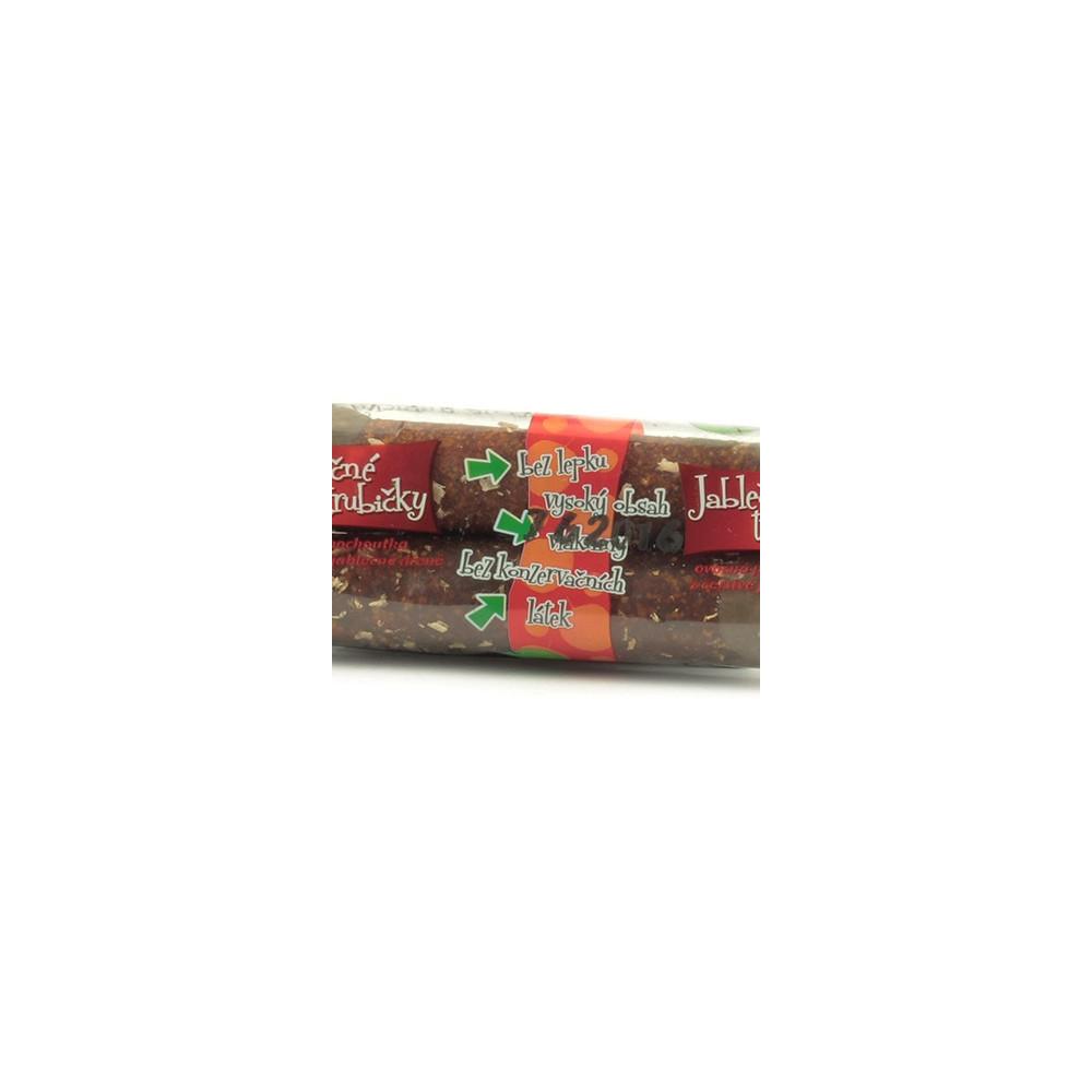 Jablečné trubičky s carobovou polevou - Trutna 24g