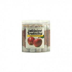 Jablečné trubičky s jogurtovou polevou dóza - Trutna 450g