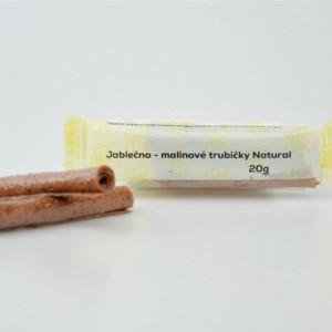 Jablečno - malinové trubičky - Natural 20g
