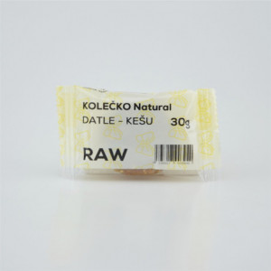 RAW kolečko datle - kešu - Natural 30g