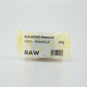 RAW kolečko fíky - mandle - Natural 30g