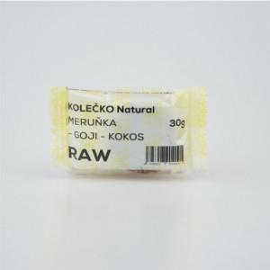 RAW kolečko meruňka - goji - kokos - Natural 30g