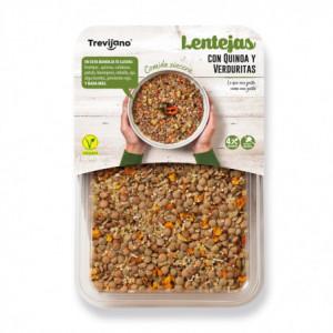 Čočka s quinoou a zeleninou (4 porce) - Trevijano 220g
