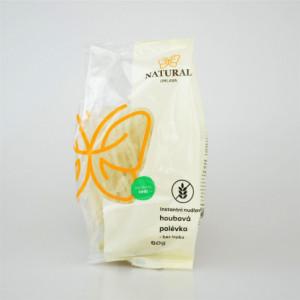 Instantní nudlová houbová polévka bez lepku - Natural 60g