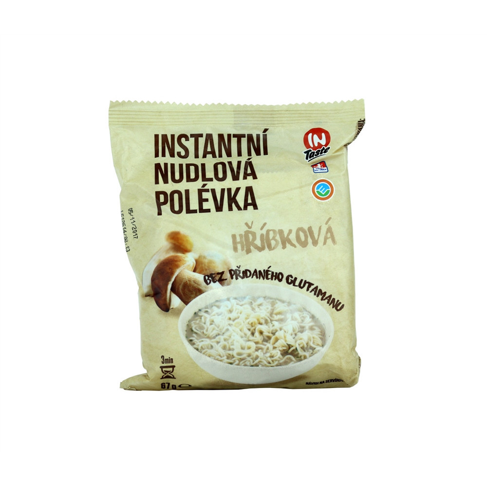 Instantní nudlová hříbková polévka - Altin 67g