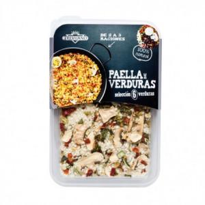 Paella 6 druhů zeleniny bez lepku (2-3 porce) - Trevijano 200g