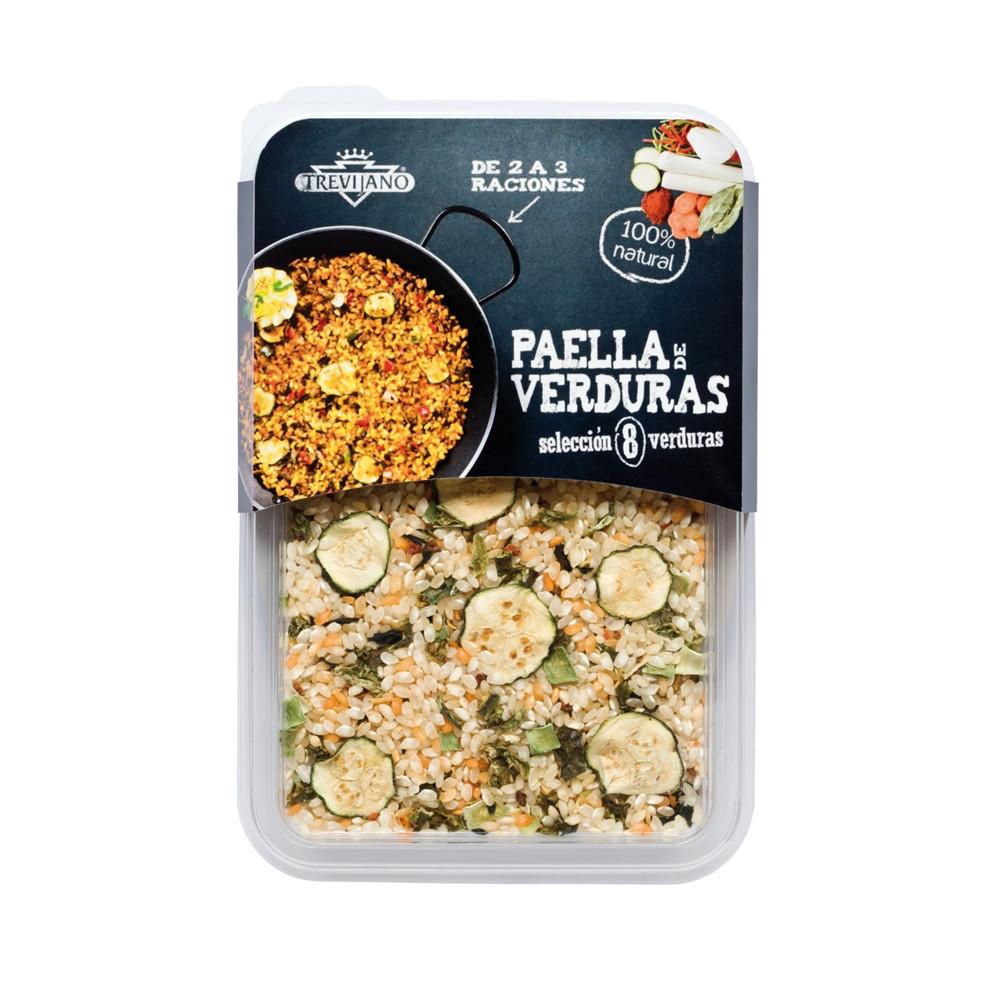 Paella 8 druhů zeleniny bez lepku (2-3 porce) - Trevijano 200g
