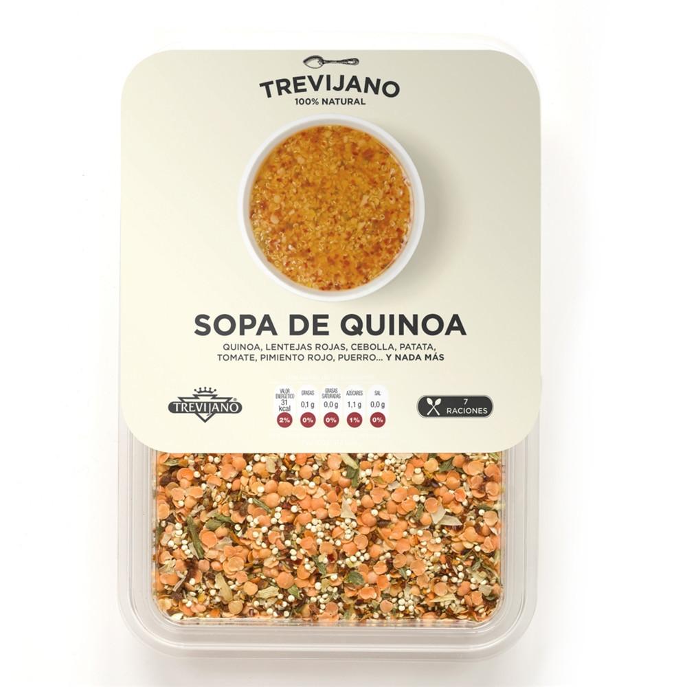Polévka Quinoa bez lepku (směs na 3l polévky) - Trevijano 200g Sleva 30%