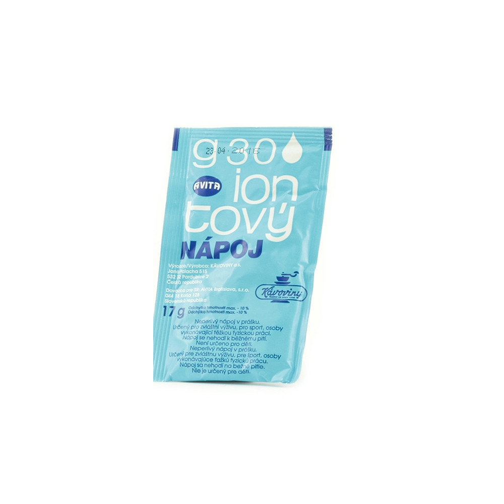 G30 iontový nápoj 17g