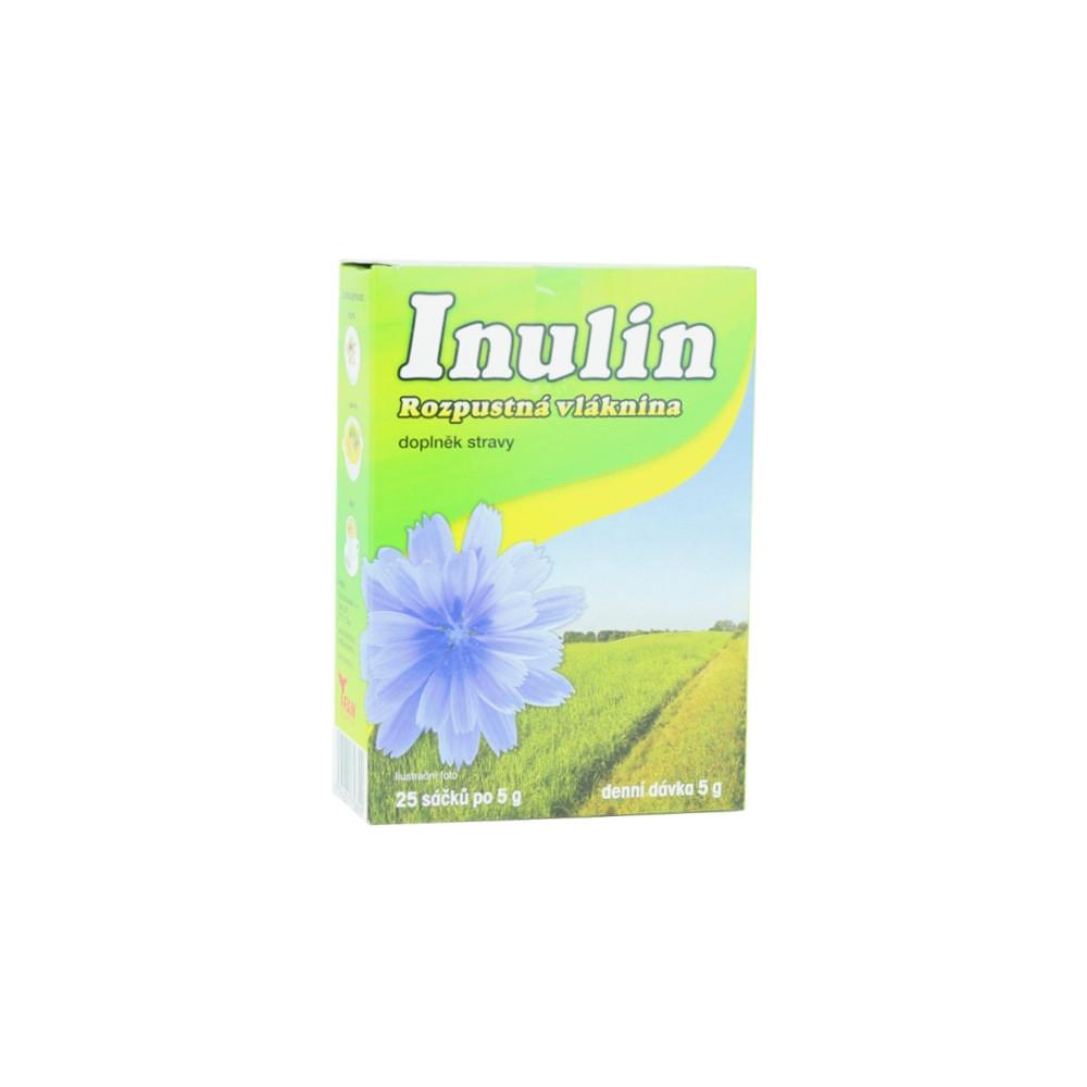Inulin - rozpustná vláknina 125g