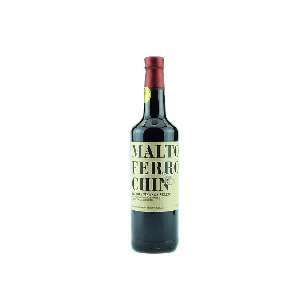 Maltoferrochin - železité víno 750ml