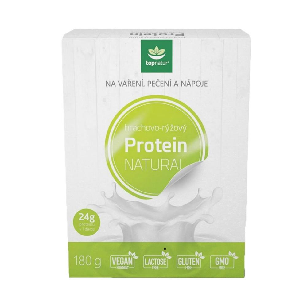 Protein hrachovo - rýžový - Topnatur 180g