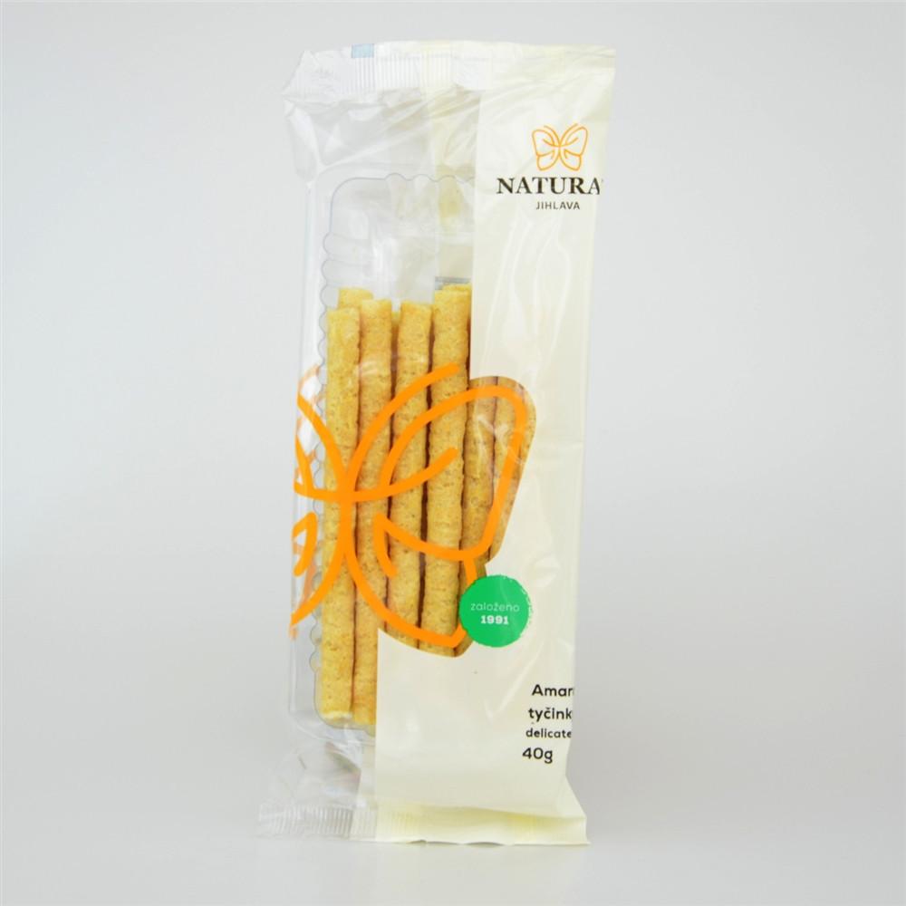 Amaranthové tyčinky delikates - Natural 40g