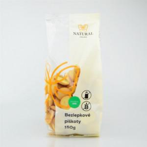 Bezlepkové piškoty - Natural 150g