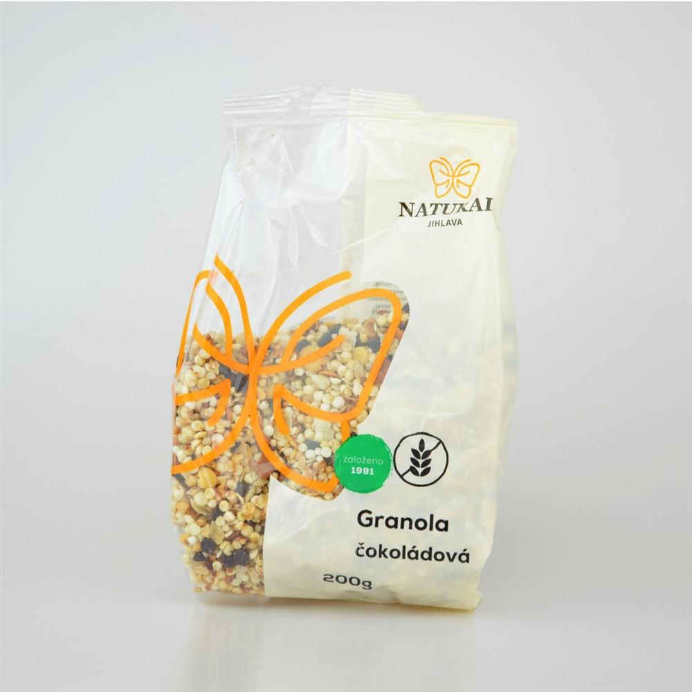 Granola čokoládová bez lepku - Natural 200g