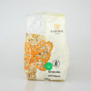 Granola jahodová bez lepku - Natural 200g