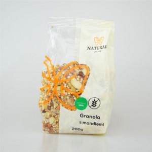 Granola s mandlemi bez lepku - Natural 200g