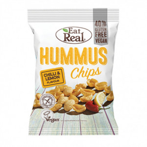 Hummus chips chilli a citron - Eat Real 45g