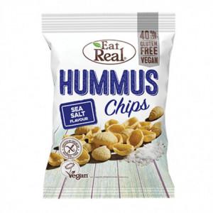 Hummus chips mořská sůl - Eat Real 45g