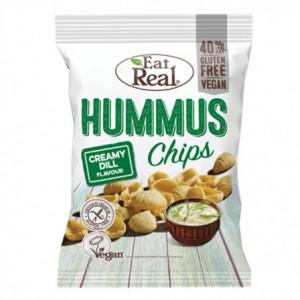Hummus chips s krémovým koprem - Eat Real 45g