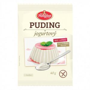 Puding jogurtový bez lepku - Amylon 40g