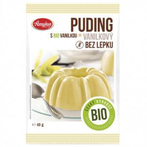 Puding vanilkový BIO bez lepku - Amylon 40g