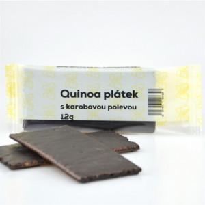 Quinoa plátek s karobovou polevou - Natural 12g