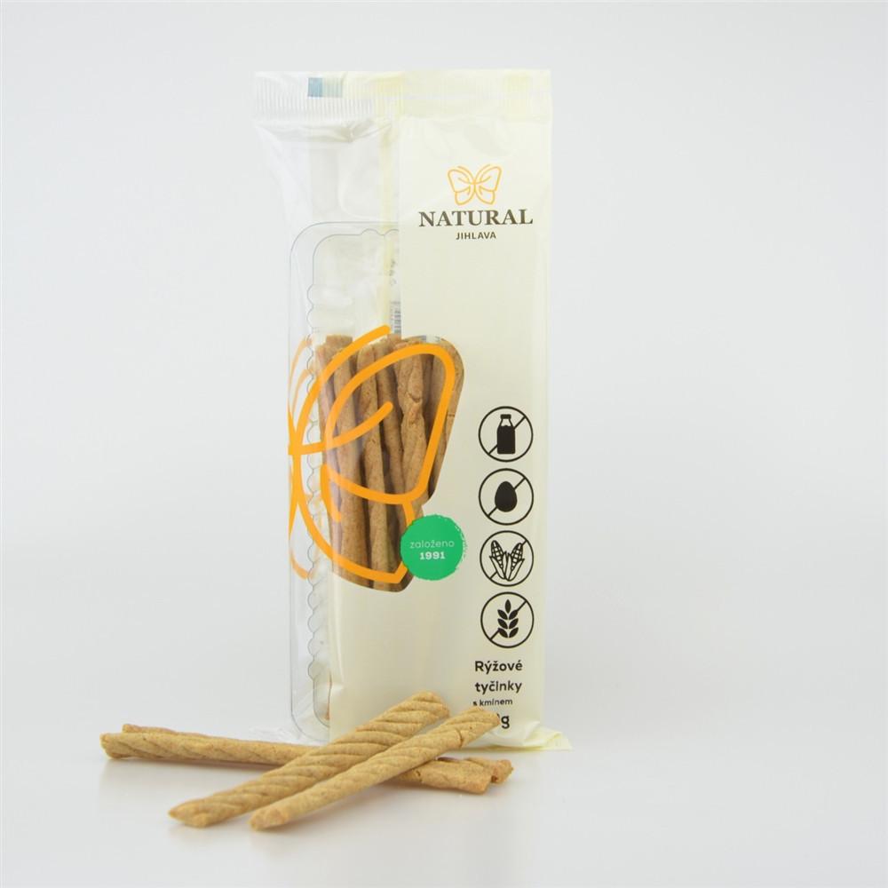 Rýžové tyčinky s kmínem - Natural 150g