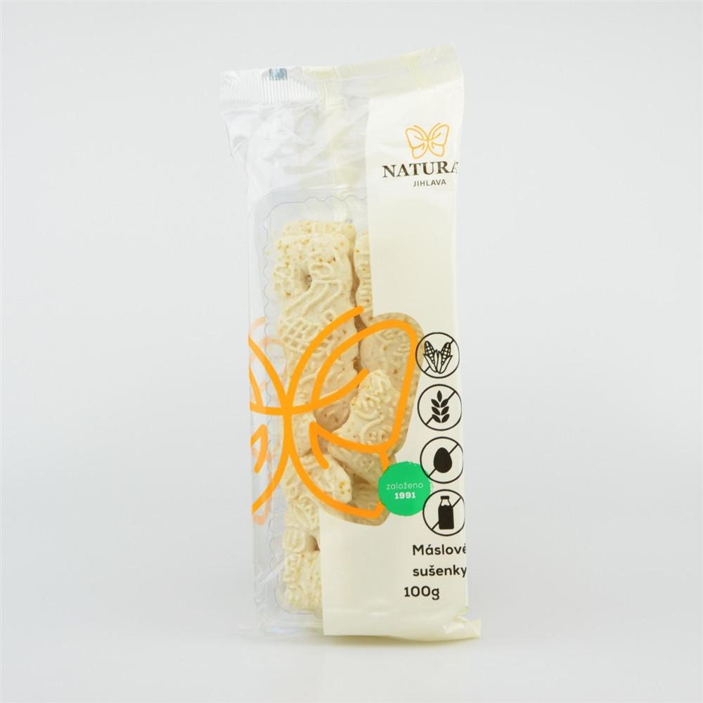 Sušenky máslové bez lepku