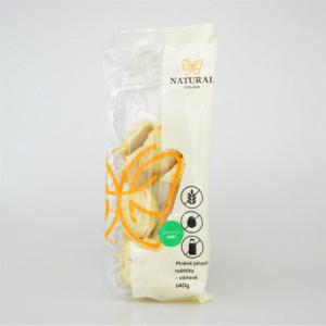 Sušenky plněné jáhlové taštičky višňové bez lepku