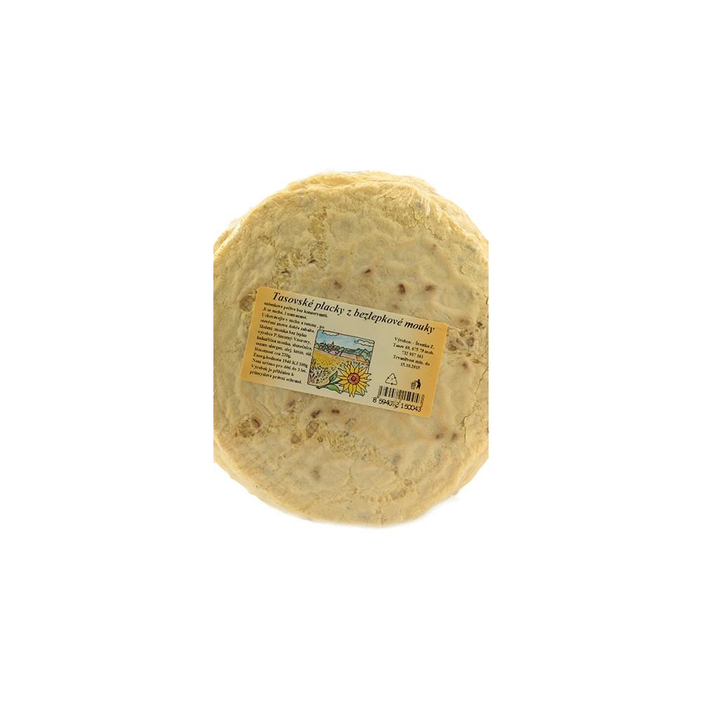 Tasovské placky z bezlepkové mouky - Švestka 220g