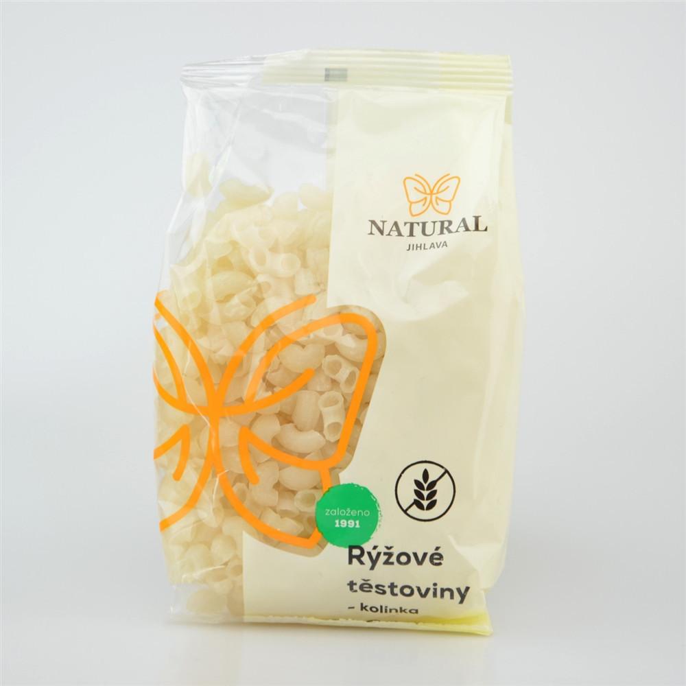 Těstoviny rýžové bez lepku - kolínka - Natural 300g