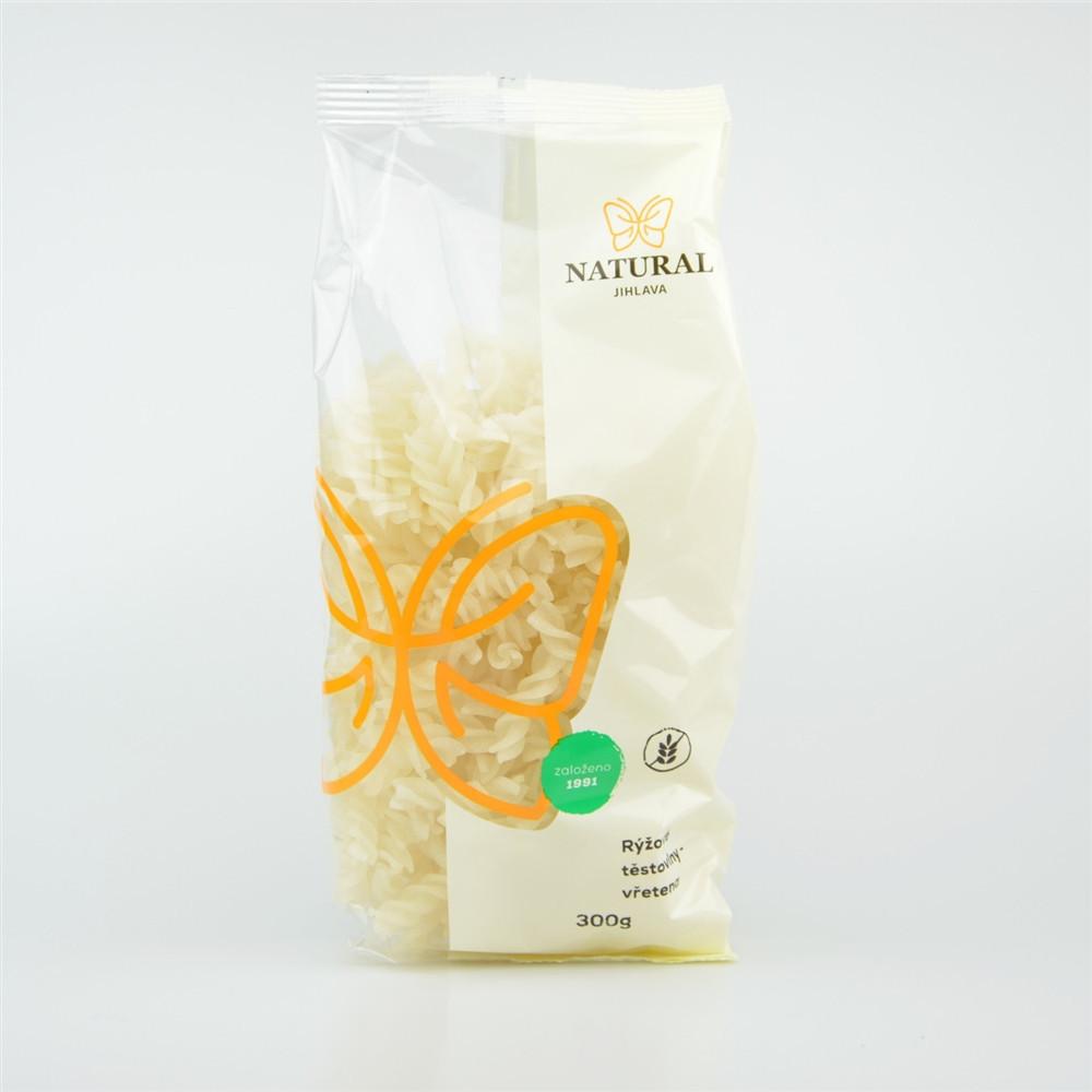Těstoviny rýžové bez lepku - vřetena - Natural 300g