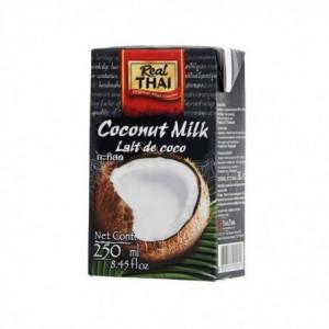 Kokosové mléko - Real Thai 250ml 85% extrakt