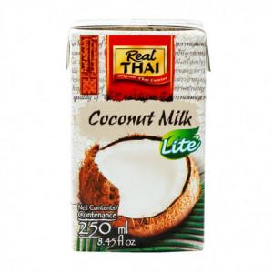 Kokosové mléko lite - Real Thai 250ml