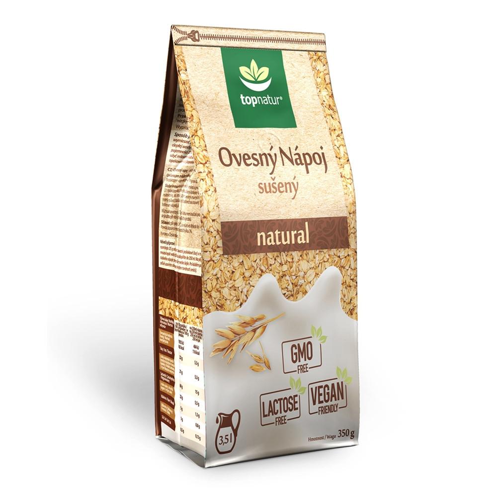 Ovesný nápoj sušený natural - Topnatur 350g