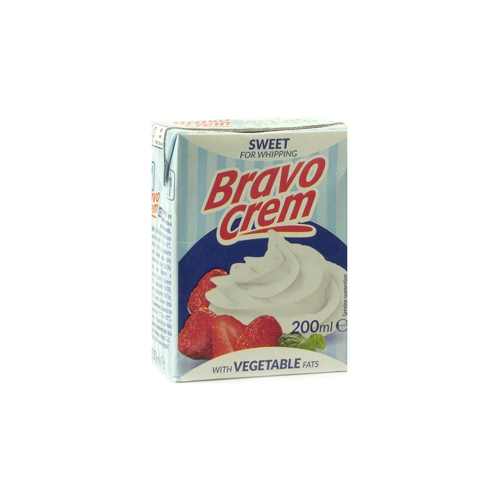 Rostlinná šlehačka Bravo crem 200ml