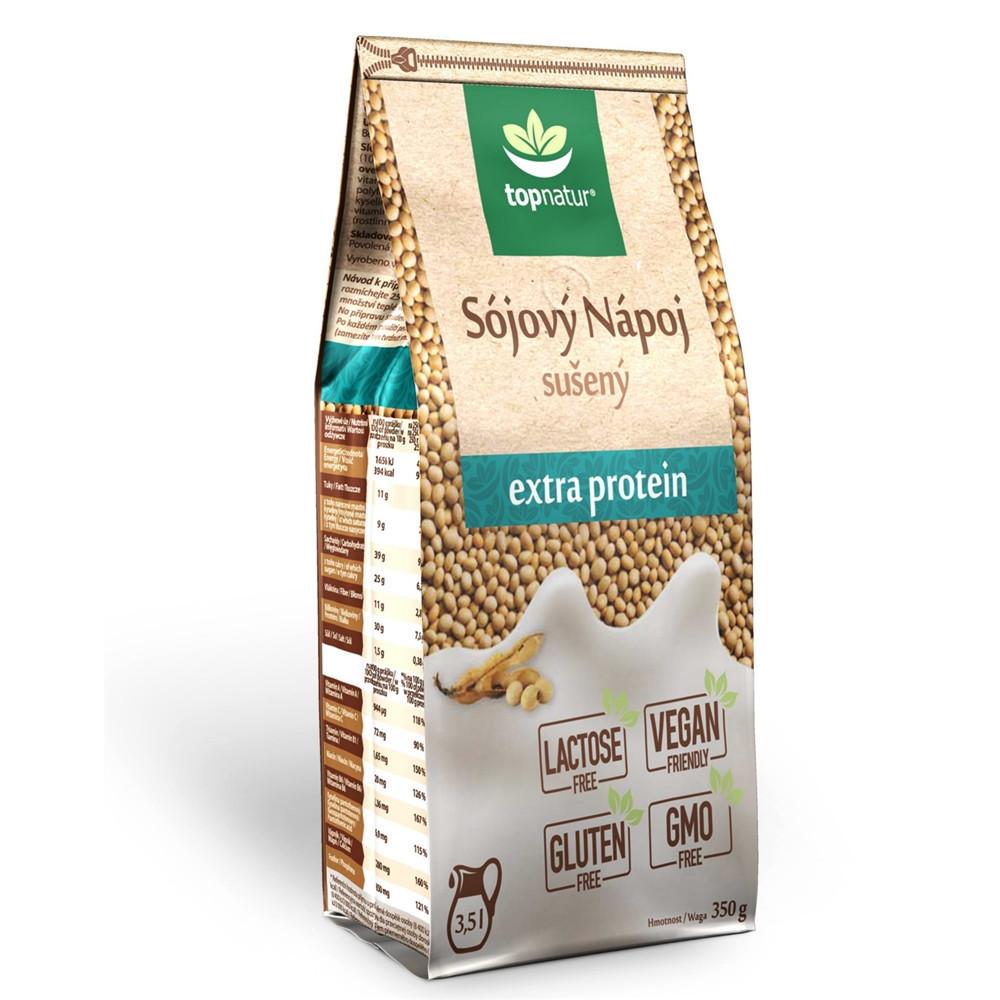 Sójový nápoj sušený extra protein - Topnatur 350g
