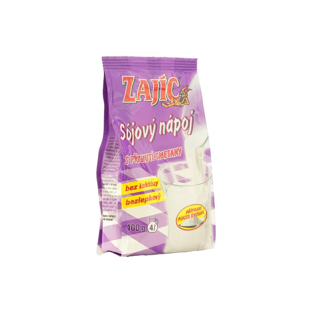 Zajíc - sójový nápoj se smetanou sáček - Mogador 400g