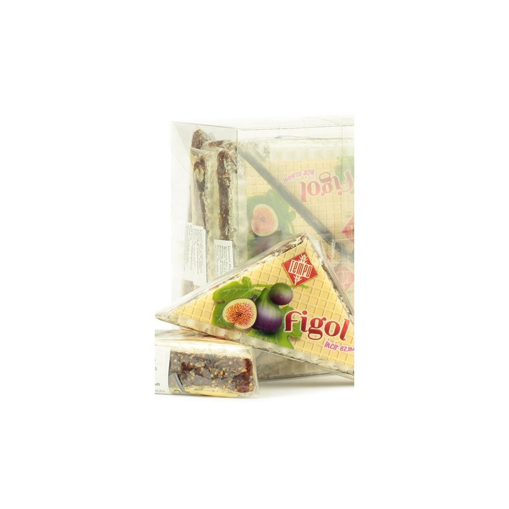 Figol - fíkový trojhránek - celé balení 12ks -400g