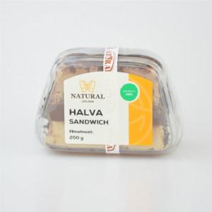 Chalva Izrael tříbarevná sendvič - Natural 250g