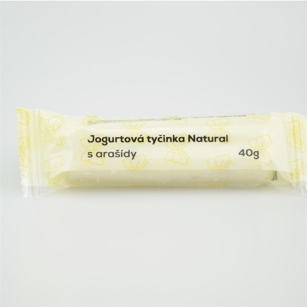 Jogurtová tyčinka s arašídy - Natural 40g