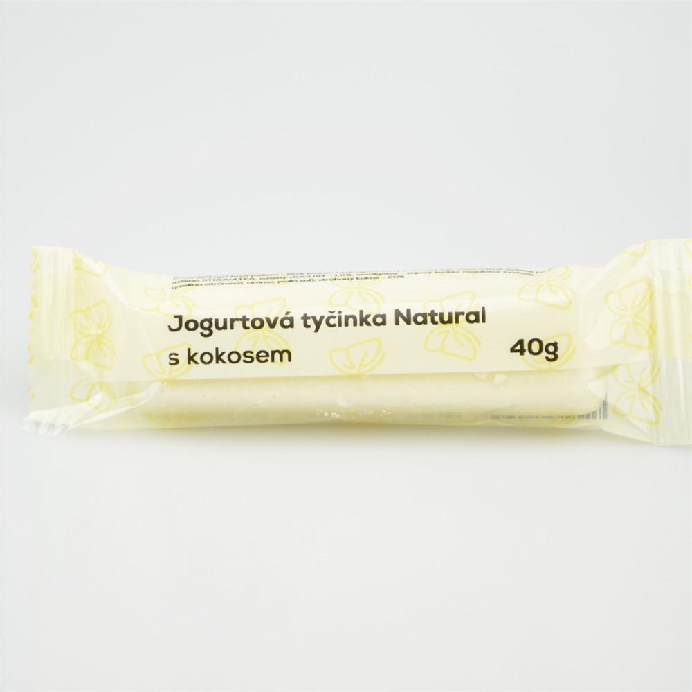 Jogurtová tyčinka s kokosem - Natural 40g