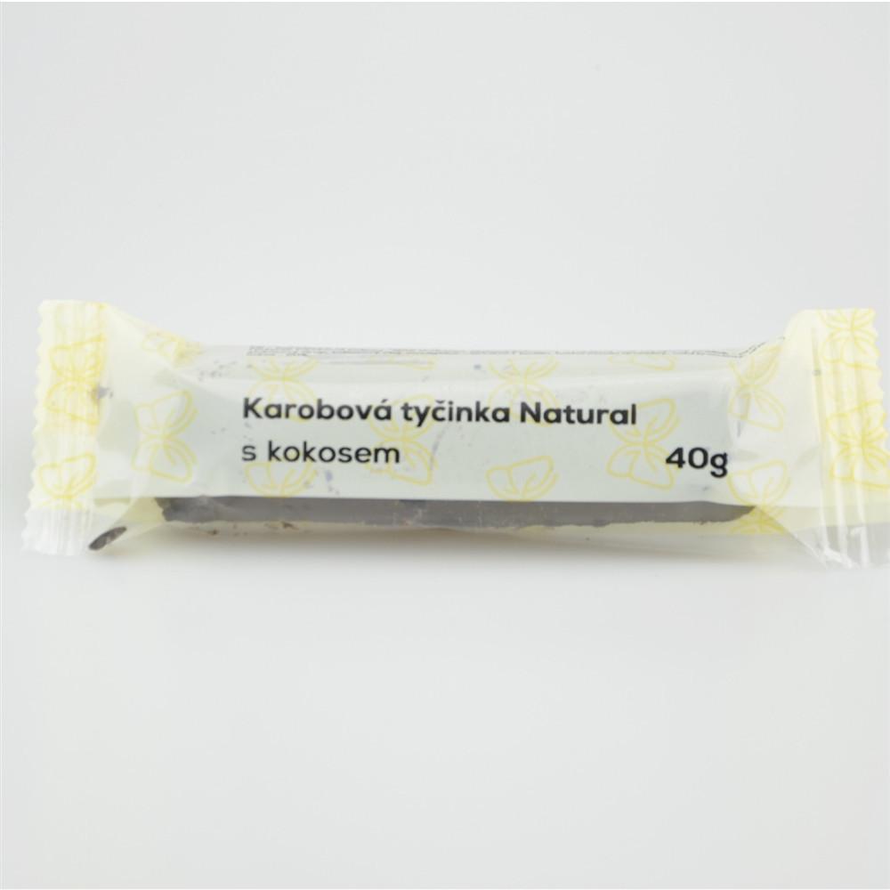 Karobová tyčinka s kokosem - Natural 40g